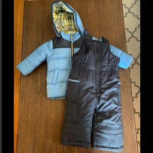 Carter's Coat With Snow Bibs